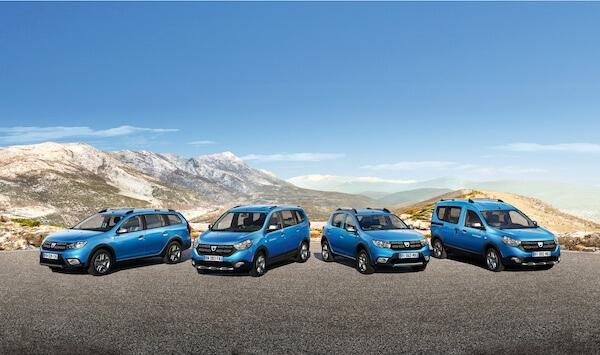 Dacia STEPWAY range